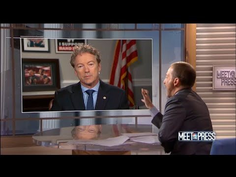 Chuck Todd gets owned by Rand Paul then scolded by Congressman for incompetence